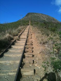 Koko crater, a great mountain in Hawaii Kai