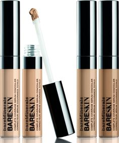 Bare Minerals Bareskin Complete Coverage Serum Concealer is really amazing! #Lookpretty #amazingmakeup #highendmakeup #makeup