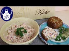 Hummus, Dips, Grains, Cheese, Ethnic Recipes, Food, Youtube, Sandwich Spread, Bread Baking