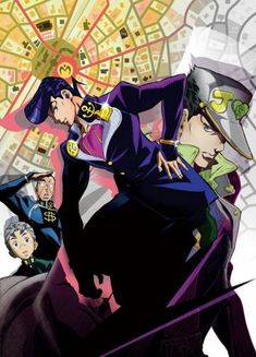 Anime-Saikou | JoJo's Bizarre Adventure: Diamond wa Kudakenai 01 VOSTFR