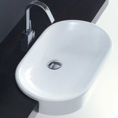 Ovo Semi Recessed Basin