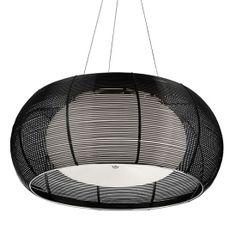 Black Basket 2 Light Pendant With Opal Glass Shade Inner Ceiling Chandelier, Black Chandelier, Ceiling Pendant, Ceiling Lights, Basket Lighting, Lighting Uk, Pendant Lighting, Light Pendant, Black Basket