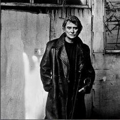 Anton Corbijn 1994 London Johnny Hallyday