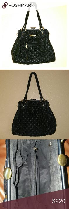 Marc Jacobs Quilted Leather Stam Bag Pre-owned excellent condition Marc Jacobs  Bags Shoulder Bags