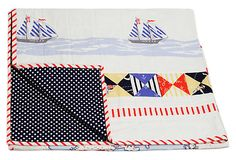 Out To Sea Crib Quilt on OneKingsLane.com