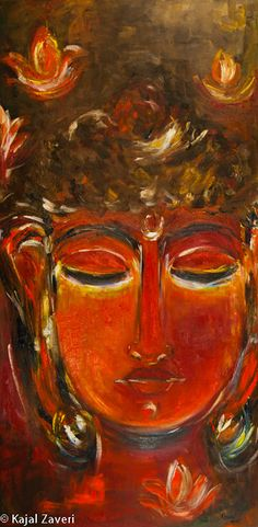 Buddha by KajalZaveriArt on Etsy