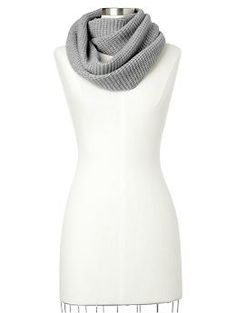 Cashmere waffle infinity cowl scarf | Gap