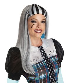 Look what I found on #zulily! Frankie Stein Wig - Adult by Monster High #zulilyfinds