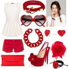 """""""Red? Passion"""" by andreitavp on Polyvore"""