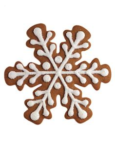 Gingerbread Snowflakes=MARTHA STEWART RECIPE- I ALTERED W 1 TSP VANILLA, ONLY CINNAMON AND DARK CORN SYRUP INSTEAD. ALSO FOOD COLOR (BROWN).