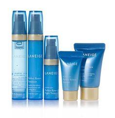 Laneige Perfect Renew Skincare Trial Kit 5 Items - Strawberrycoco