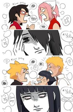 Hinata and sasuke...the quiet person