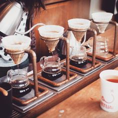 Pour Over Coffee Stand Plus