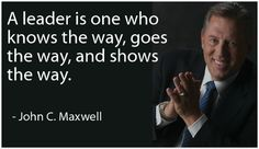Quote on leadership by John C. Maxwell