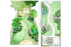Love this back garden design/plan. Love this back garden design/plan.