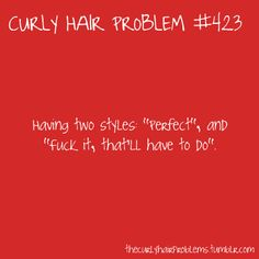 I have this problem and I don't have curly hair