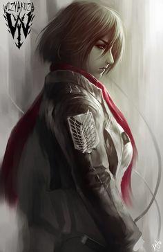 Mikasa by wizyakuza.deviantart.com on @DeviantArt