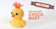 Amigurumi Chick - FREE Crochet Pattern / Tutorial