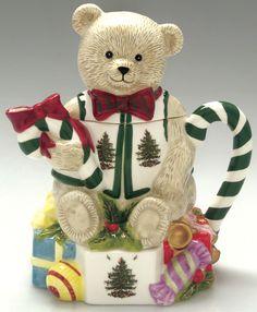 Christmas Bear teapot