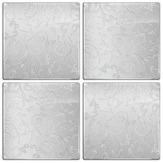 The Smart Tiles - Pewter Motif This would look lovely as a backsplash in the kitchen.