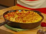 Sweet Corn Mac 'n' Cheese Recipe from Food Network. My family LOVED this! It's easy to adapt to whatever cheese you have in the refrigerator. I was lazy and just used panko breadcrumbs. This is a keeper!