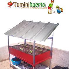 Tuminihuerto: MANUALIDADES. Mesa de cultivo casera. Como tener un huerto en el balcón.