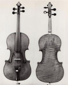 Violin made by J.B. Vuillaume, 1828.