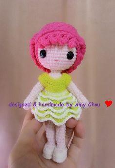 Mesmerizing Crochet an Amigurumi Rabbit Ideas. Lovely Crochet an Amigurumi Rabbit Ideas. Crochet Amigurumi Free Patterns, Crochet Flower Patterns, Crochet Doll Pattern, Doll Patterns, Crochet Toys, Loom Knitting Stitches, Crochet Fairy, Doll Tutorial, Knitted Dolls