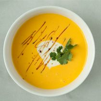 Chilled Roasted Cantaloupe Soup