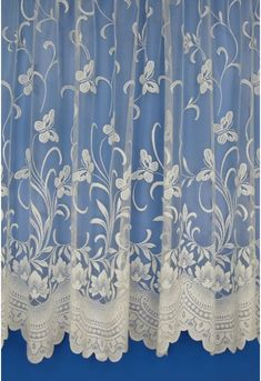 Buy Annabel cream net curtains online from Woodyatt Curtains. All curtains are handmade and dispatched within 7 working days Net Curtains, White Plains, Light Sensitivity, Made To Measure Curtains, Butterfly Design, Window Sill, Cream, Snug, Handmade