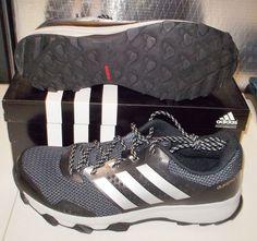 NEW ADIDAS DURAMO 7 TRAIL Mens Running Black Cloudfoam NIB #Adidas #TrailRunning