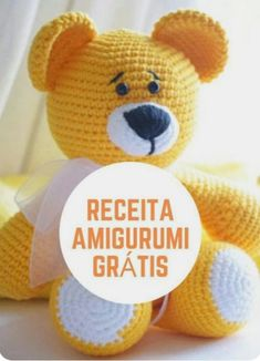 Crochet Teddy Bear Pattern, Crochet Animal Patterns, Crochet Patterns Amigurumi, Crochet Animals, Crochet Dolls, Baby Knitting Patterns, Cat Amigurumi, Diy Crafts Crochet, Crochet Projects