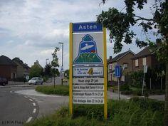 Asten - plaatsnaambord