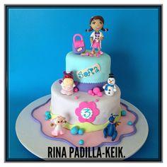 Doctora Juguetes, Doktor Mcstuffins Cake, by Rina Padilla KEIK