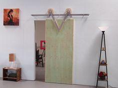 Handmade  Sliding Barn Door Hardware by Mullerdesigns1 on Etsy