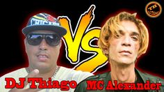 Batalha de MC'S-DJ Thiago VS MC Alexander-(THE RAP BATTLE PARODY ).