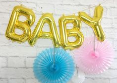 """BABY"" Balloons"
