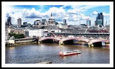 St Paul's Cathedral and the Thames