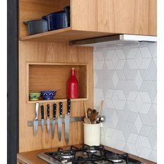 Uma Cozinha Pequena Mas Muito Bem Aproveitada E Funcional !