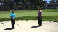 Callaway Office Golf Tip - How to Play From Bunkers. #Golf #Tip