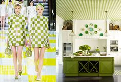 Louis Vuitton Spring 2013 RTW and House Beautiful StylePair at Fashion + Decor