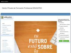 Educatec ofrece ciclos formativos de grado medio de informática o administrativo, o bien de grado superior de marketing, telecomunicaciones o prevención y riesgos profesionales.