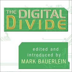 """Mark Bauerlein fans! His """"The Digital Divide"""" (Writings For and Against Facebook, Youtube, Texting, and the Age of Social Networking) is on #Sale for only $6.99 thru 6/9. Sample it here: http://amblingbooks.com/books/view/the_digital_divide"""