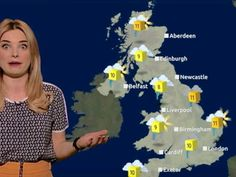 Weather forecaster shows her geek side with Batman and Superman puns!