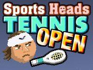 Sports Heads Tennis - Es un muy divertido, ¡Como en el tenis real!