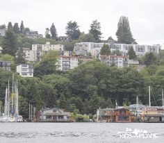 Spotted the Sleepless in Seattle house boat during the Ride the Ducks of Seattle tour! #Seattle #familytravel #tour