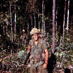 Soldier of the 22nd Infantry Regiment, 1966. ~ Vietnam War