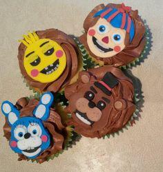 five nights at freddy's cupcake | Tumblr