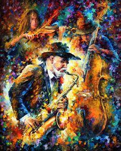 Enldess Tune - Oil on canvas by *Leonidafremov on deviantART