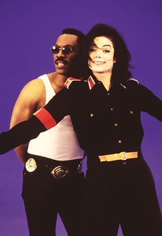 Two of my favorite stars of the 80s, MJ and Eddie! #rebuildingmylife